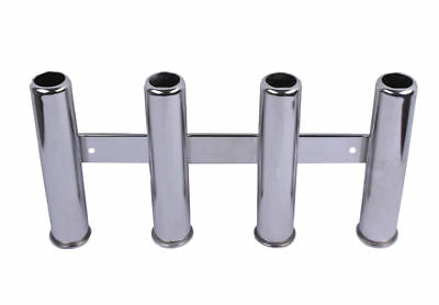 4 Link Tube Marine Stainless Steel Fishing Rod Holder for Camper/Yacht/Track RV