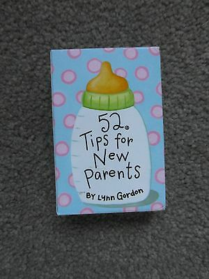 NEW 52 Tips for New Parents by Lynn Gordon Card Deck