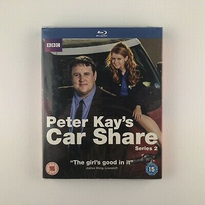 Peter Kay's Car Share - Series 2 - Complete (Blu-ray, 2017) *New & Sealed*