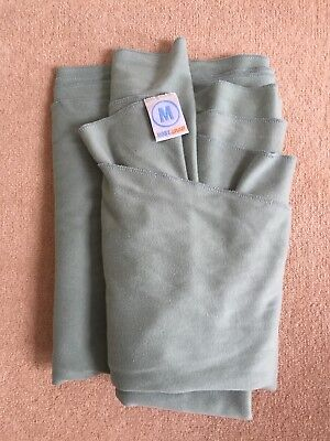 MOBY Baby Sling Wrap, Green, Excellent condition, Birth-35lbs