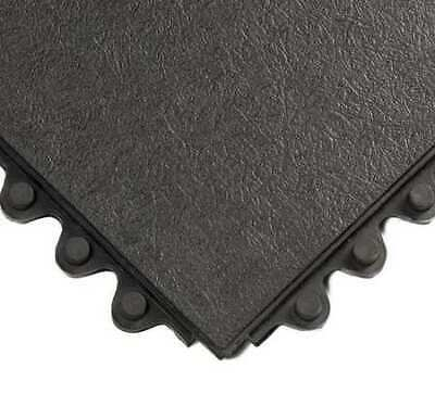 WEARWELL 570 Modular Antifatigue Mat,Black,3ft.x3ft.