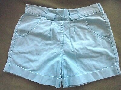 Girls  Vintage Adams  turquoise summer Shorts age approx 18 -2 yrs height 92cm