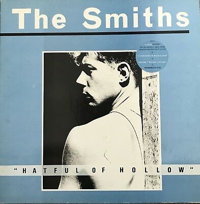 THE SMITHS ~ Hatful Of Hollow ~ 1984 UK first issue Rough Trade 16-trk vinyl LP