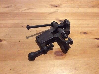 Vintage Jewellers Bench Vice; With Anvil; Old Tool; Collectable; Antique