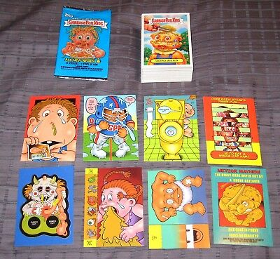 Garbage Pail Kids ANS 6 GPK Complete Sticker Set + Activity + Wrapper