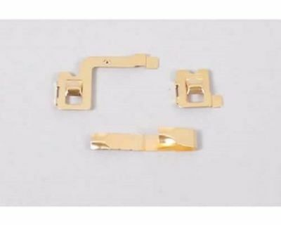 Tamiya Mini 4Wd Ricambi - Super X Chassis Gold Plated Terminal Set - 15237