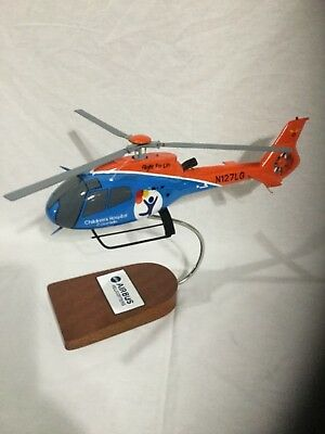 Airbus H130 scale helicopter, Children's Hospital Colorado EMS.