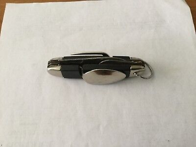 Vintage 4 in 1 folding pocket knife