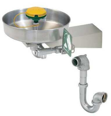 HAWS 7360BTWC Axion MSR Wall-Mounted Eyewash Station with Stainless Steel Bowl