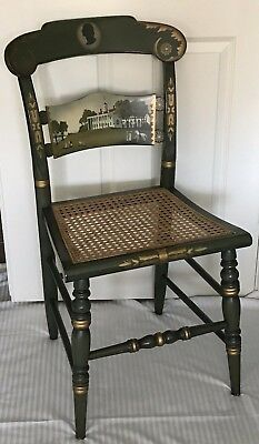 "RARE- Hitchcock Green Presidential Chair-George Washington""s Mt. Vernon-#4/100"