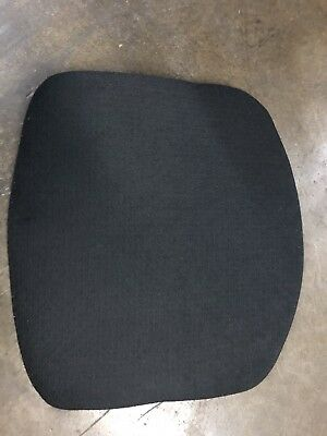 Knoll Life Chair Seat Topper Replacement Black Fabric