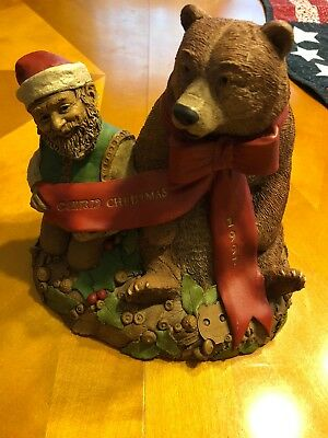 CAIRN CHRISTMAS '97-R 1997~Clark/Wolfe Gnome~6335~Ed 76~COA~Signed by Both~Story
