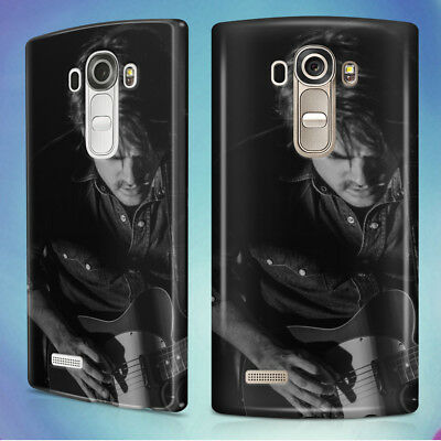 Man Playing Electric Guitar Hard Back Case Cover For Lg Phones
