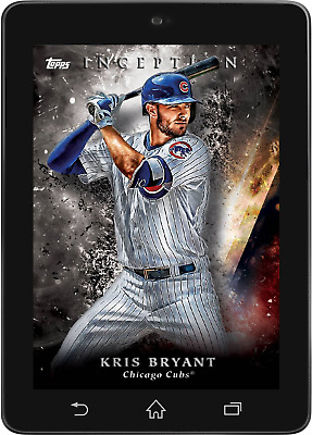 Topps BUNT Kris Bryant BASE INCEPTION 2018 Wave 2 [DIGITAL CARD] 250cc