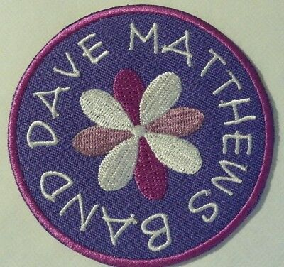 """Dave Matthews Band Embroidered Applique Patch~3""""~Iron Sew On~NEW~Ships FREE"""