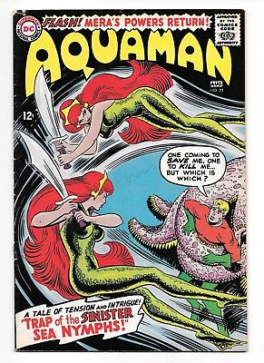 Aquaman Issue #22 (VG/FN), DC Silver Age, August 1965) - 1st appearance of Siren