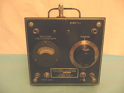 Bendix Radio I-95 BM Field Strength Meter VINTAGE OEM 1947 Model