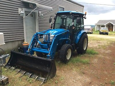 LS Tractor XR4155H With Loader , Backhoe and Snowblower Only 125Hrs!