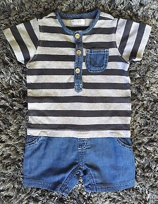 Baby Boys Summer Romper by Next ~ Aged 3-6 Months