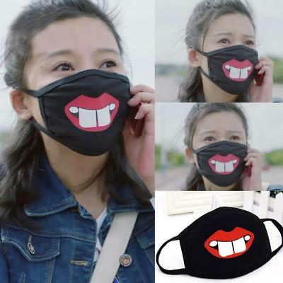 Lovely Modern Cotton Mask Cartoon Kpop EXO BTS Unisex Anti-dust Face Mouth