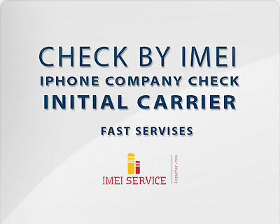 Apple iPhone Sold by + Replacement Info + Case Info Check - By IMEI