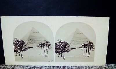 Stereoview   egypt  frith  1860 circa