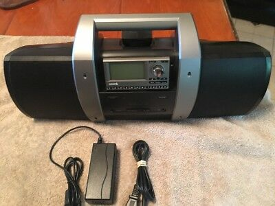 sirius satellite radio boombox SUBX1 With Sirius SP3 Radio