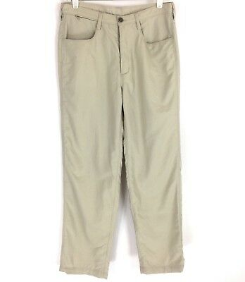 The North Face Womens Paramount Pants Packable Tekware Fossil Ivory Size 8 NWT