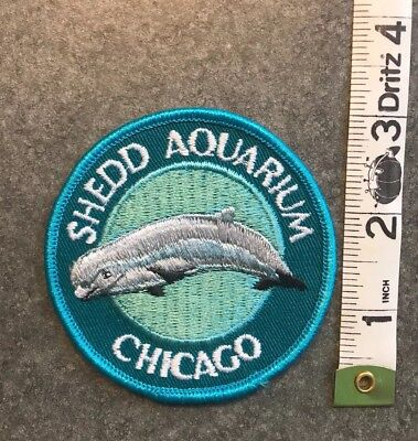 Shedd Aquarium Chicago Patch Illinois Travel Patch Unused