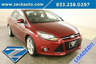Ford Focus Titanium 2L I4 16V Automatic FWD Moonroof