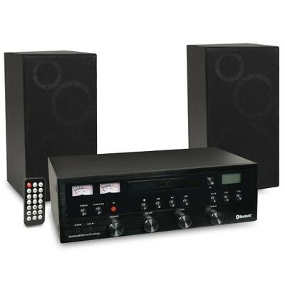 Innovative Technology Bluetooth Wireless Stereo System w/CD Player, AM/FM Ra