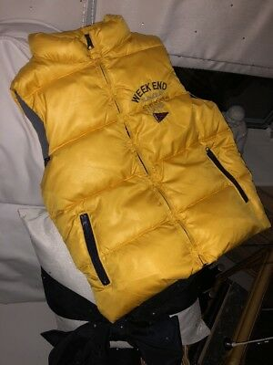 Weekend Ala Mer Age 8 Designer Gilet,  Jacket, Yellow atlanoc Ocean  Immaculat