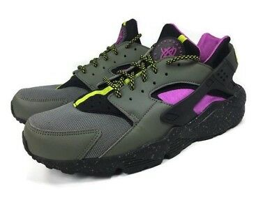 quite nice 9ecd0 b2dd0 Nike Air Huarache - Men s River Rock Bright Cactus Black Hyper Crimson