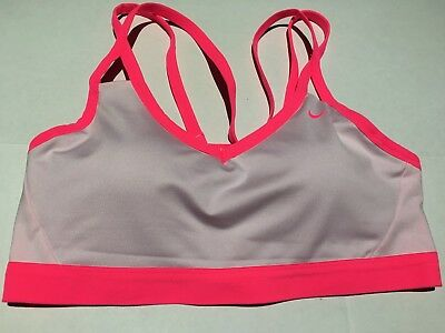 ee342dd86ee0b Nike Womens Pro Indy Sports Bra Light Support Size L  938792-612 (Retail