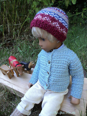 """3 Pcs. Outdoor Outfit for Gregor/Sasha Doll by """"The Spin I'm In."""""""