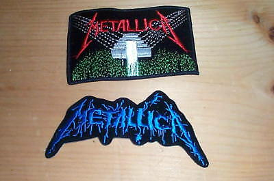 2 METALLICA Puppets Vintage Embroidered Patches - New Condition