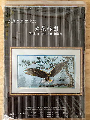 Gorgeous - Eagle - Counted Cross Stitch Kit - 35 x 56cm