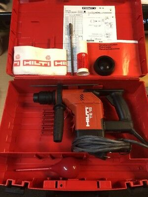 New Hilti TE 15 Rotary Hammer Drill With Case