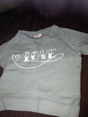 river island mini girls 0-3 Sweatshirt