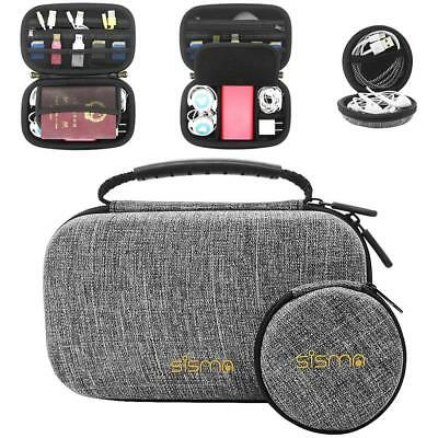 Sisma Travel Electronics Organizers Carrying Cases for Small Electronics and