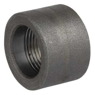 "1/2"" FNPT SS Half Coupling ZORO SELECT S4036HC004"