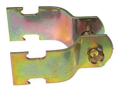 Channel Pipe Clamp,1/2 In,Gold,PK10 ZORO SELECT V111 1/2Y