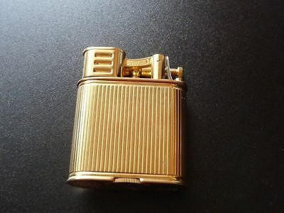 Dunhill Gold Plated Unique Sports Petrol Lighter