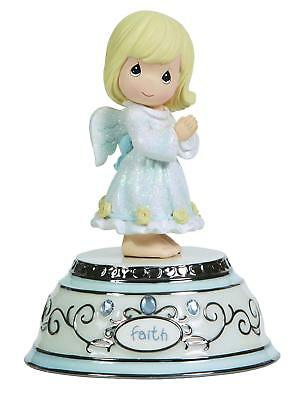 Precious Moments, Faith Angel, Porcelain/Resin, Music Box, 124109