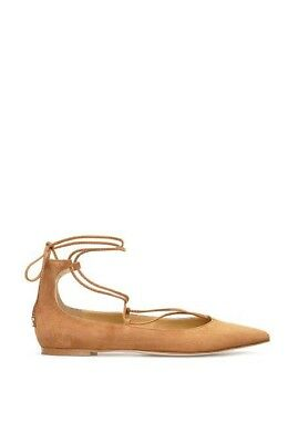 BNIB Country Road Grace Suede Ballet Flats (Tan) - Size 36