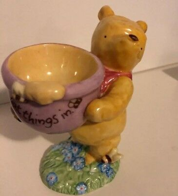 Classic Pooh Figurine-A Useful Pot To Put Things in