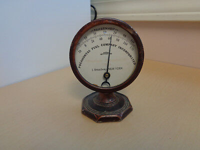 Vintage Art Deco Advertising Thermometer-Pocahontas Fuel Company/Coal