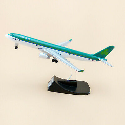 14cm Airplane Model Plane Air Aer Lingus Airlines Airbus 330 A330 Aircraft Model