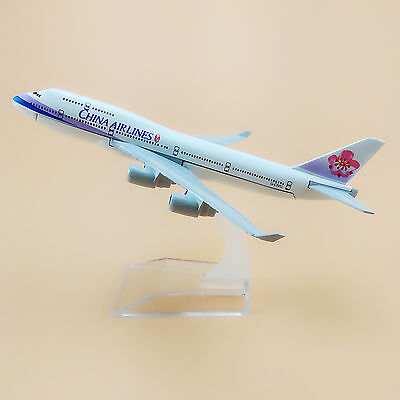 Air Taiwan China Airlines Boeing 747 B747 Aircraft 16cm Airplane Model Plane