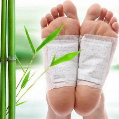 100X Detox Foot Pads Patch Detoxify Toxins with Adhesive Keeping Fit Health Care